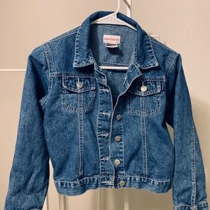 American Girl Jackets & Coats - EUC Big Girls American Girl Jean Jacket